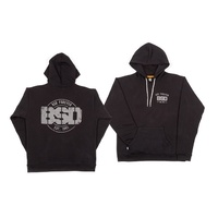 BSD ESTABLISHED PULLOVER HOOD BLACK L