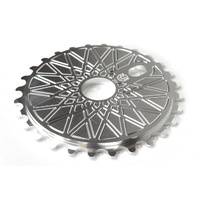 Federal BBS Solid Sprocket Silver