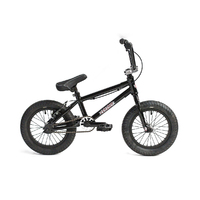 "Colony Horizon 14"" Micro Freestyle Bike Black Polished"