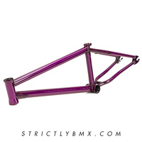 Tempered NC Frame Trans Purple 21