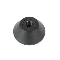 MERRITT NON-DRIVESIDE NYLON HUBGUARD BLACK 14MM