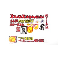 S&M 30 YEAR STICKER PACK