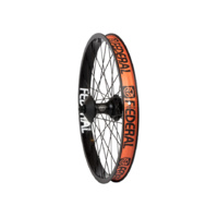 Federal Female Stance Cassette Rear Wheel With Guards And Butted Spokes