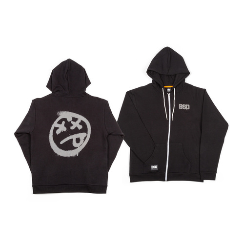 BSD ACID FACE ZIP HOOD